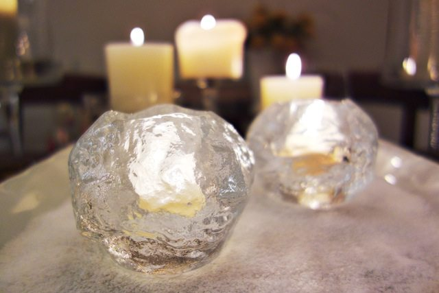 Kosta Boda Swedish Candle Holders