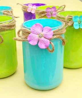 A fun Mason jar craft