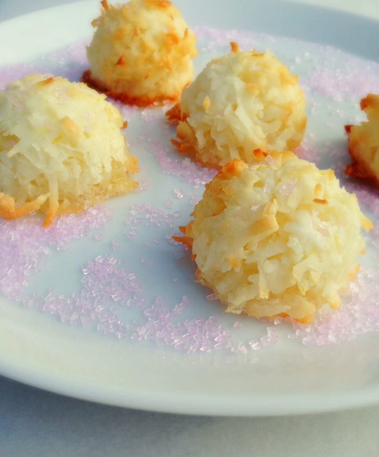 Gluten Free Coconut Macaroons for Valentine's Day