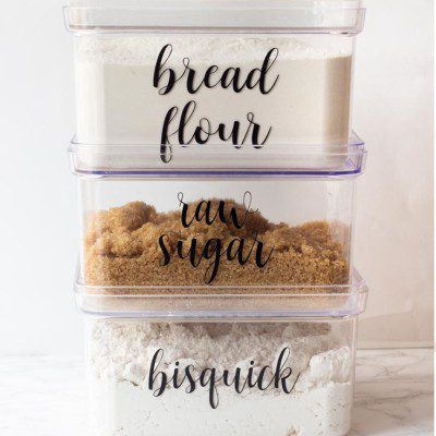 Organizing Kitchen Labels That You'll Love!