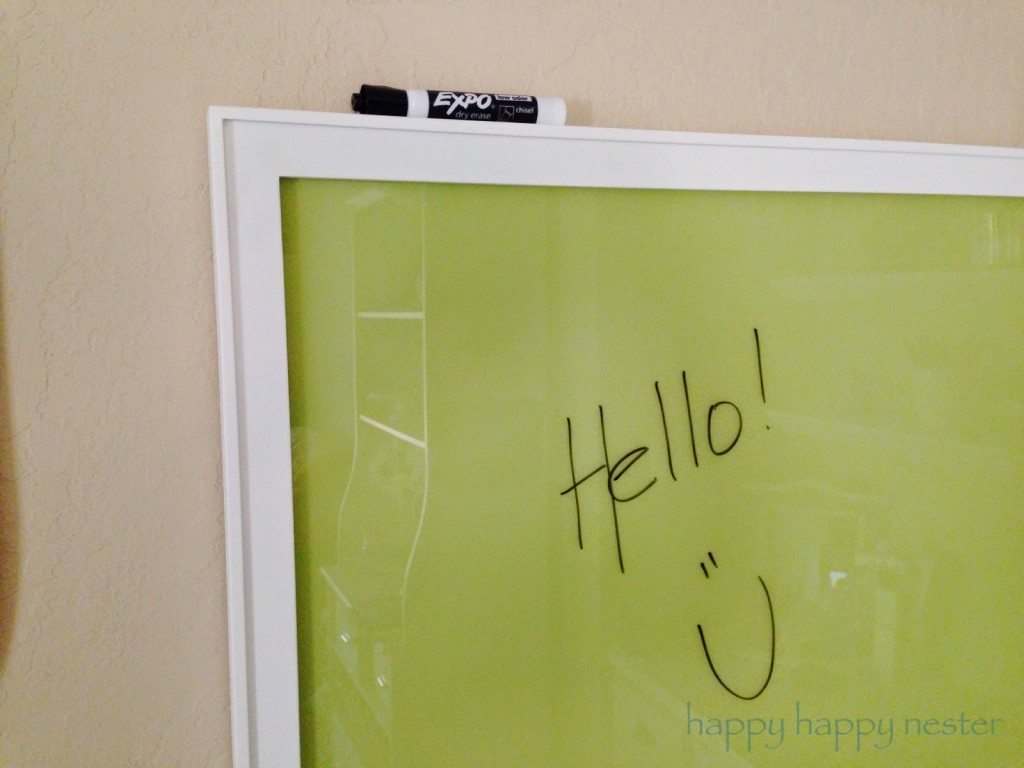 Make your own dry erase board happy happy nester for Design your own room benjamin moore