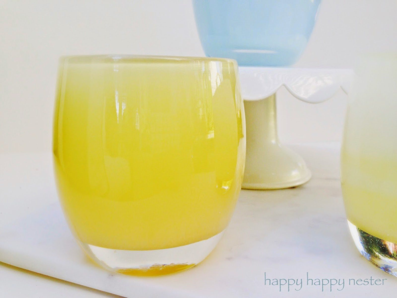 Seattle's Glassybaby Candle Holders