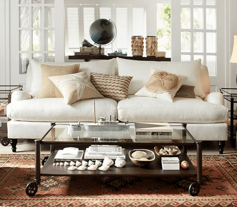 White Slipcover Sofa Choices: Ikea, Pottery Barn, Ethan And Allen, And  Crate And Barrel   Happy Happy Nester