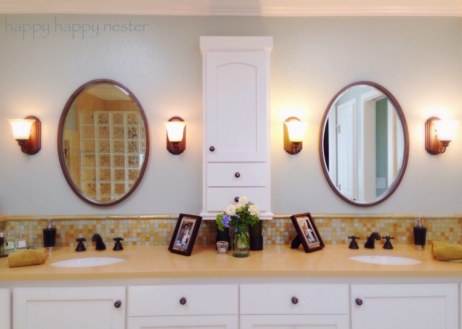 Tour of our Napa Style Bathroom
