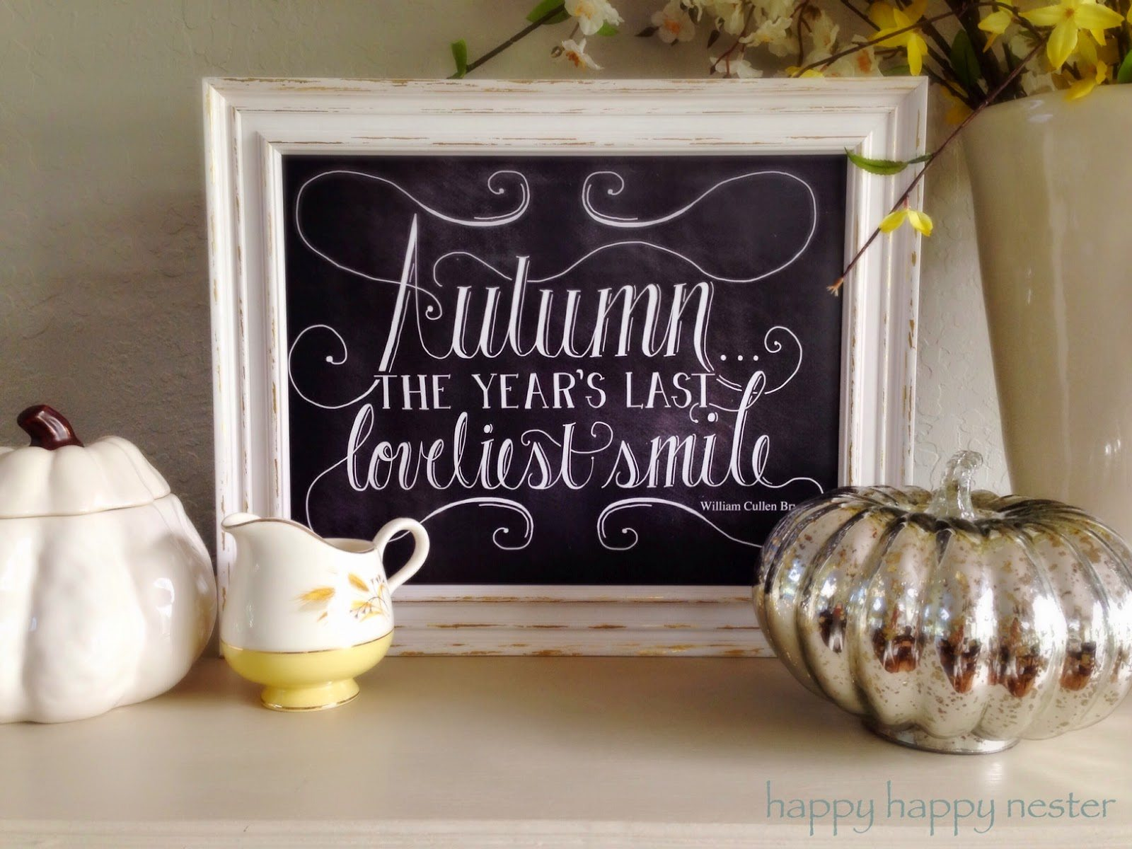 Dear Lillie Holiday Chalkboard Giveaway
