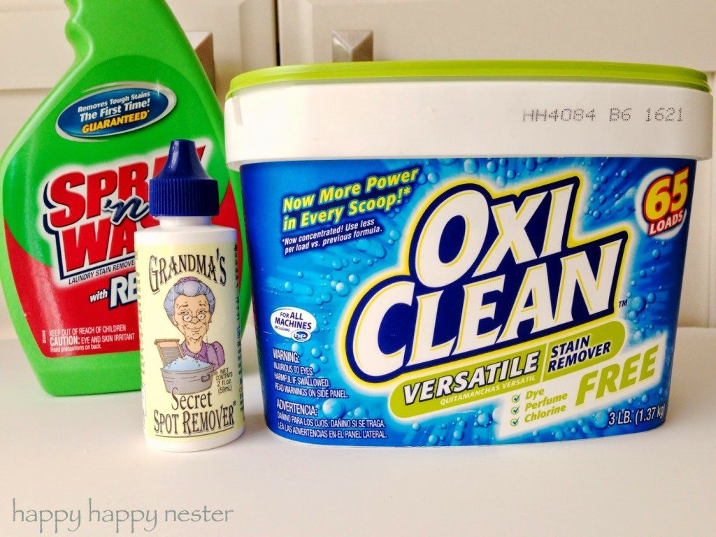 Cleaners To The Rescue, Oxi Clean Nonchlorine, Resolve, And Grandma's  Secret Stain Remover (this Stuff Is The Best, Here Is The Amazon Link: Stain