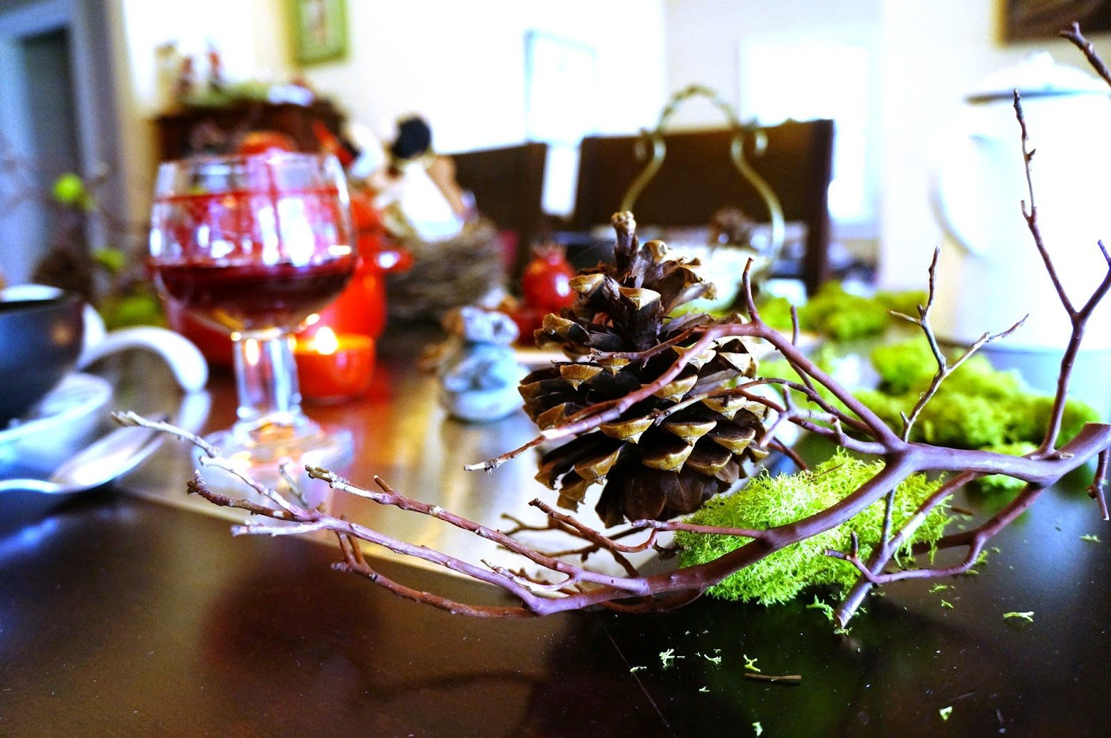 Woodland Theme Table Decorations