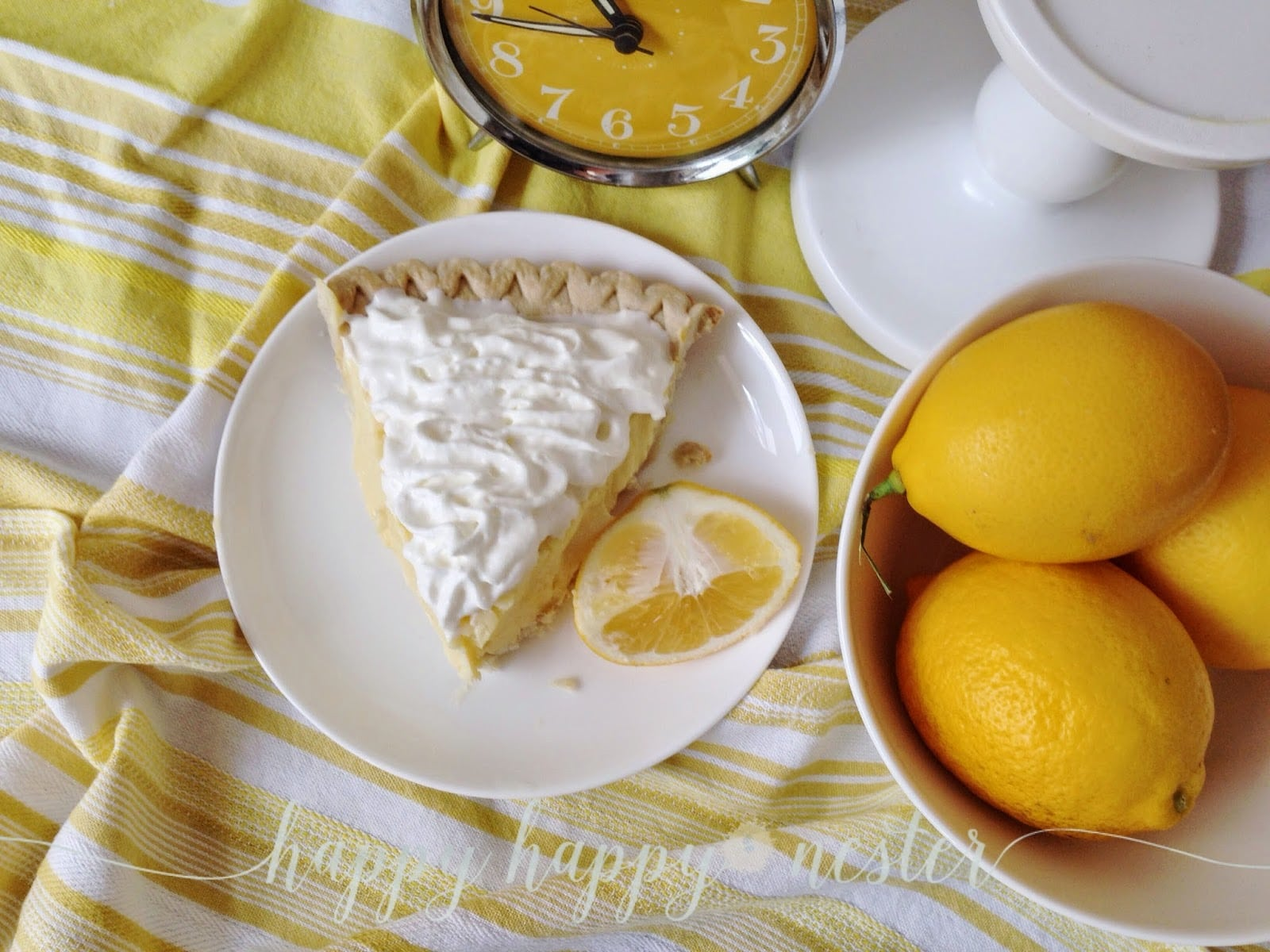 The Best Lemon Sour Cream Pie