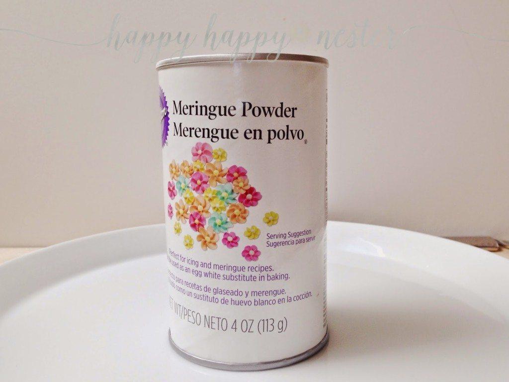 Meringue powder