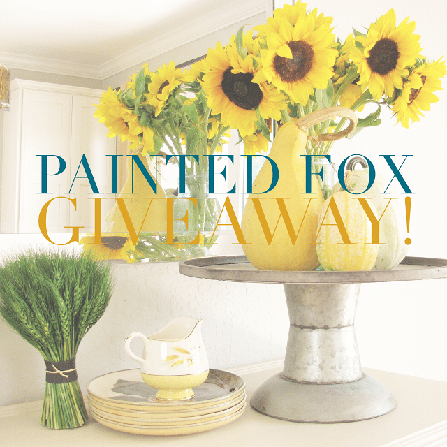 Painted Fox Giveaway!