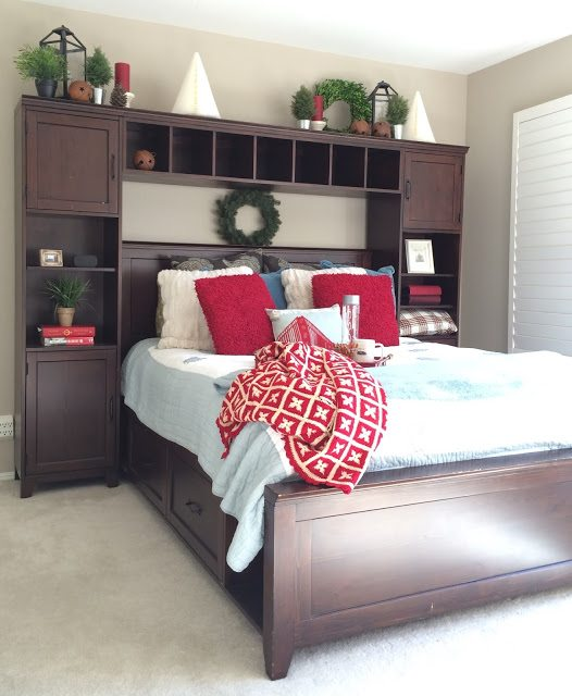Guest Room for the Holidays