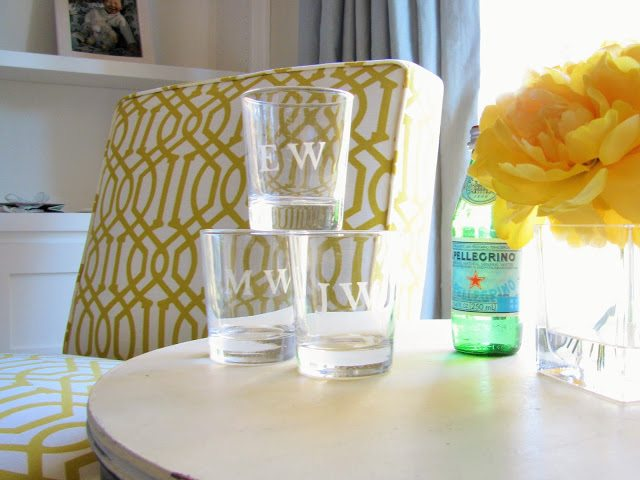 DIY Etched Glass