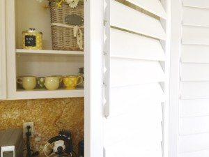 window shutters rod