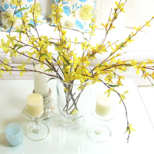 decorating ideas forsythia