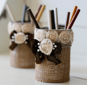 Gift Ideas Easy_to_Make_Burlap_Pencil_Holder