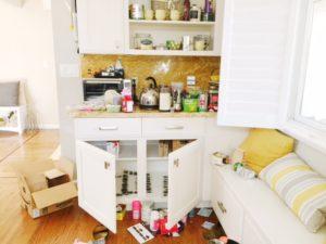 make room clutter