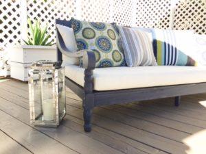 summer home deck