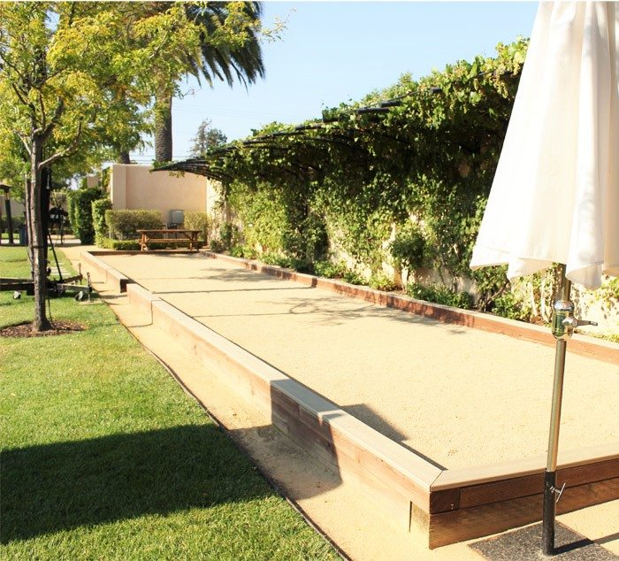 wente vineyards bocce ball