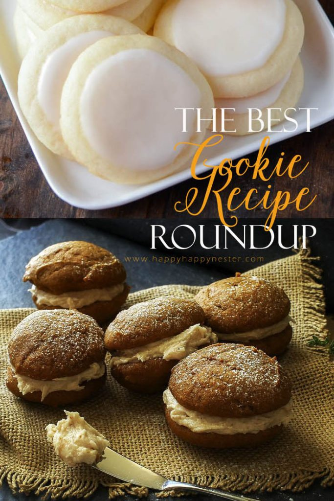 A cookie recipe roundup of weekly delectable desserts. Come on over and see what cookies are baking in our kitchen this week.