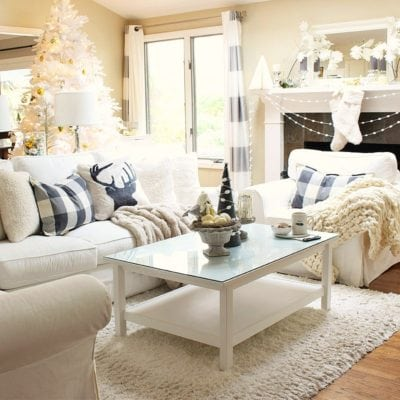 Coffee Table Styling: Early Holiday Happenings
