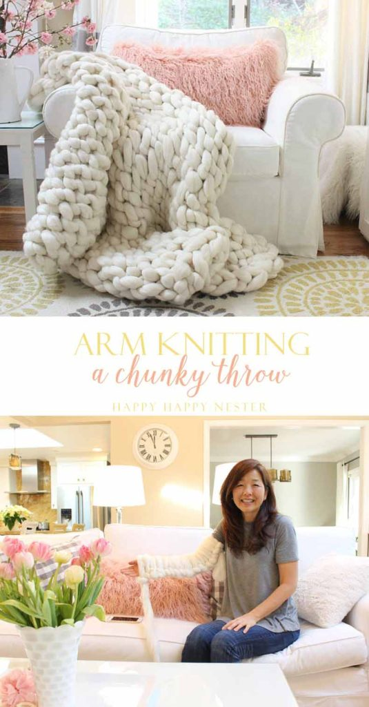 Arm knit this chunky throw. Answers to the frequently asked questions to arm knitting. You can be knitting within minutes with the resources I provide.