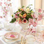 Valentine's Day Sweet Pink Table Decorations