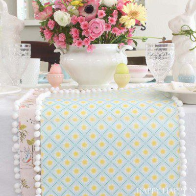 Paper Table Runner DIY: Easy Craft Project