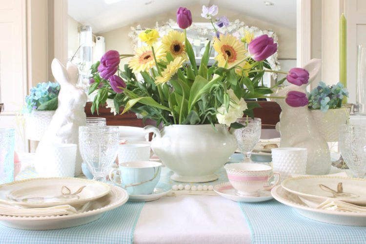 Spring Table: 14 Ideas to Style Your Home for Spring