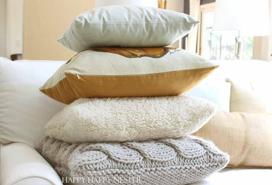 pillows and more pillows