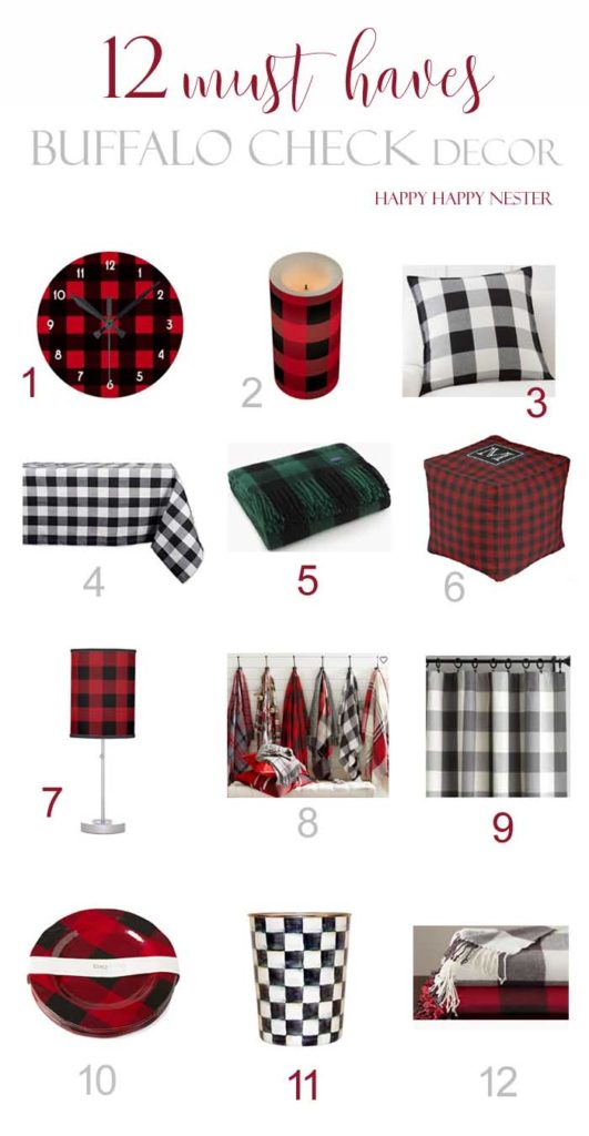 I'm mad for plaid. I've rounded up 24 plaids for your home and family! Such fun items that are so unusual, you'll want to shop plaids!