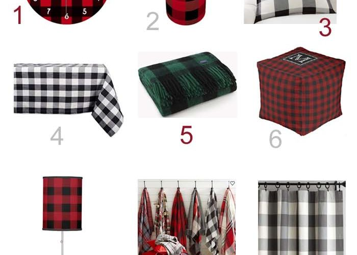 Mad For Buffalo Plaid so Let's Go Shopping