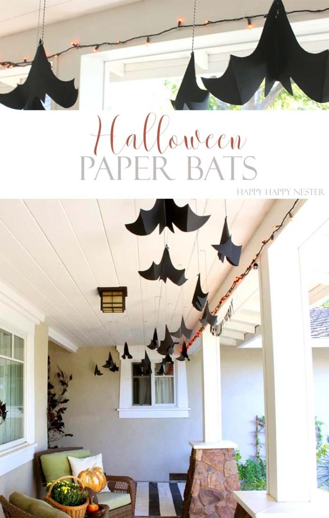 Here is an easy and cute Halloween craft that you want to make with your kids and family. It is a fun Halloween decor that will make your porch adorable.