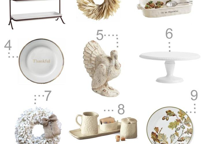 Thanksgiving Table Decorations to Buy