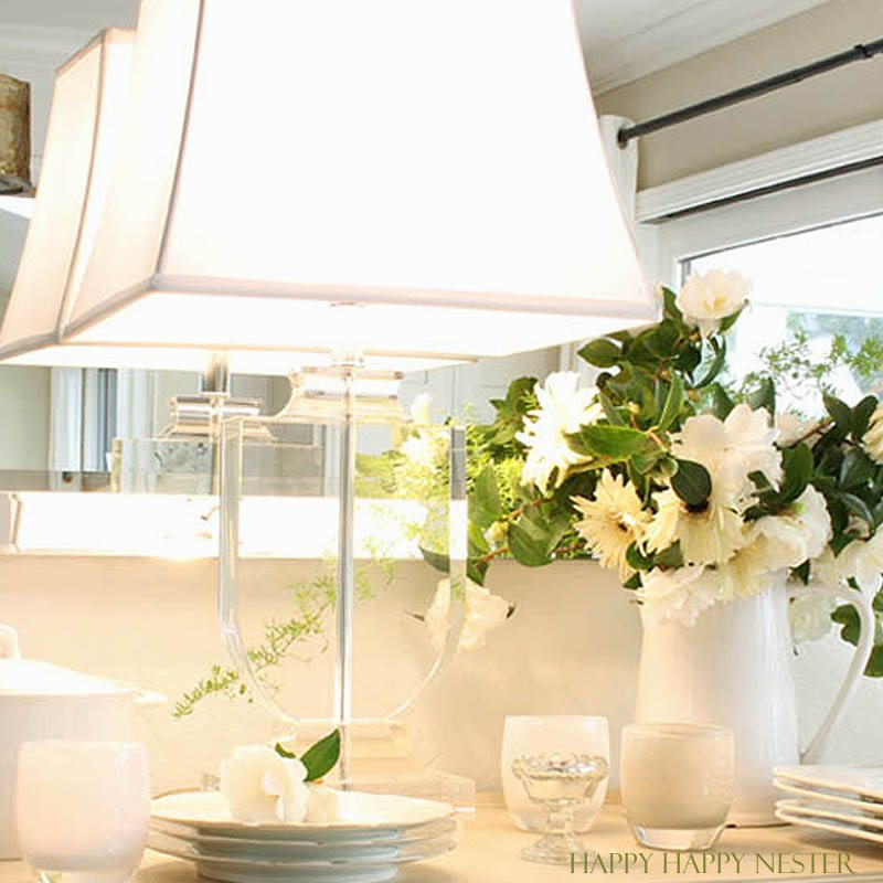 Choosing The Right Table Lamps Can Instantly Improve A Room Immediately. I  Got Mine From
