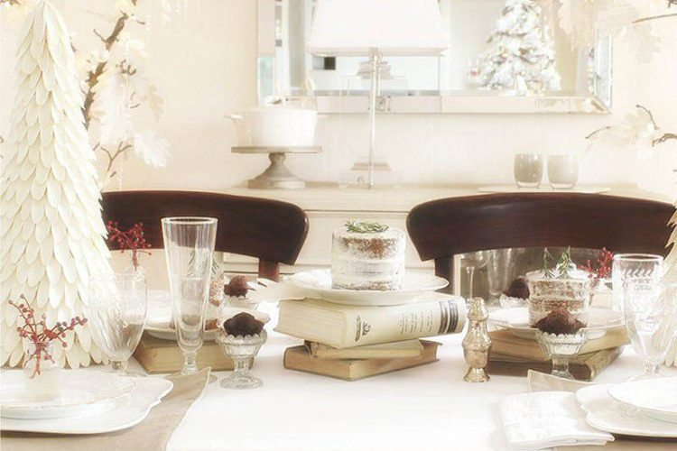 French Country Farmhouse Style Table Decor