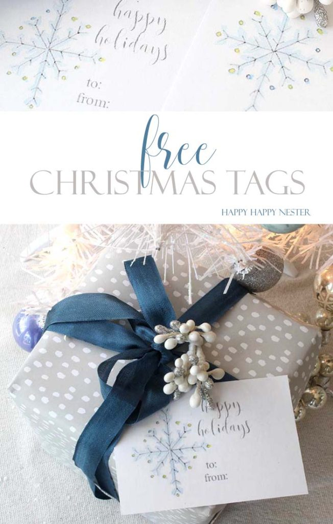 Christmas Tags: Free Printables you will Absolutely Love