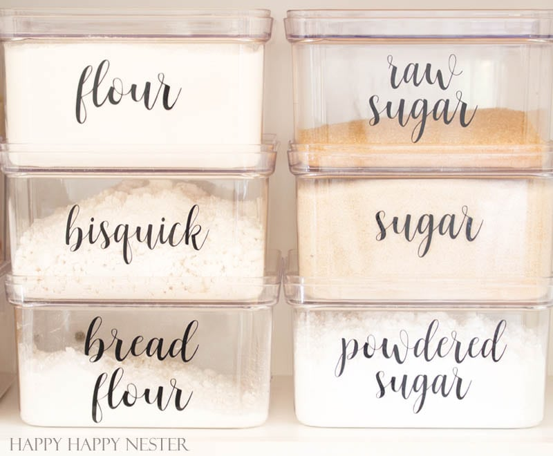 Organizing Kitchen Labels: That You Will Love