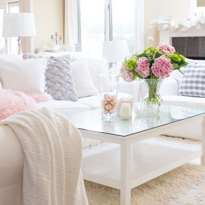 Valentine's Day: Decorating with Pink