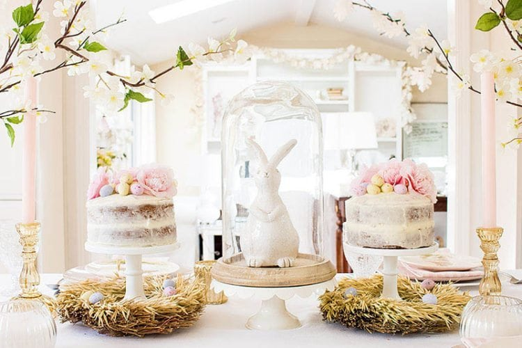 Setting a Simple Easter Table: Easy Decorating Ideas
