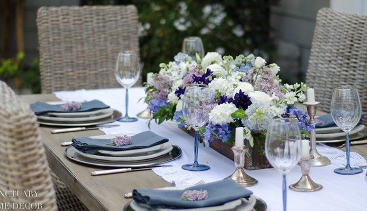 Blue Home Decor for Spring