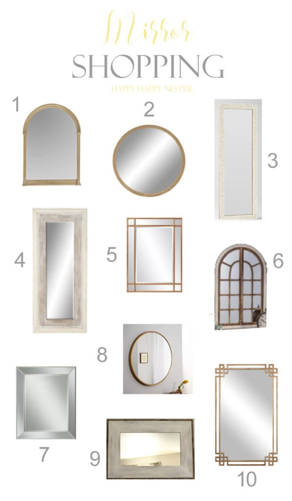I have found so many mirrors lately while working on a design project for a client. I thought I would share these fun and unique mirrors in this post. Mirrors add instant beauty to most rooms with their reflections and sparkle. Think about adding some to your home. #mirrors #decorate #walldecor #instantdecor #home
