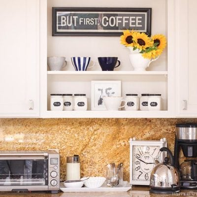 Do You Need to Organize Your Coffee Station?