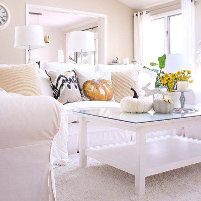 Fall Home Tour with Untraditional Colors