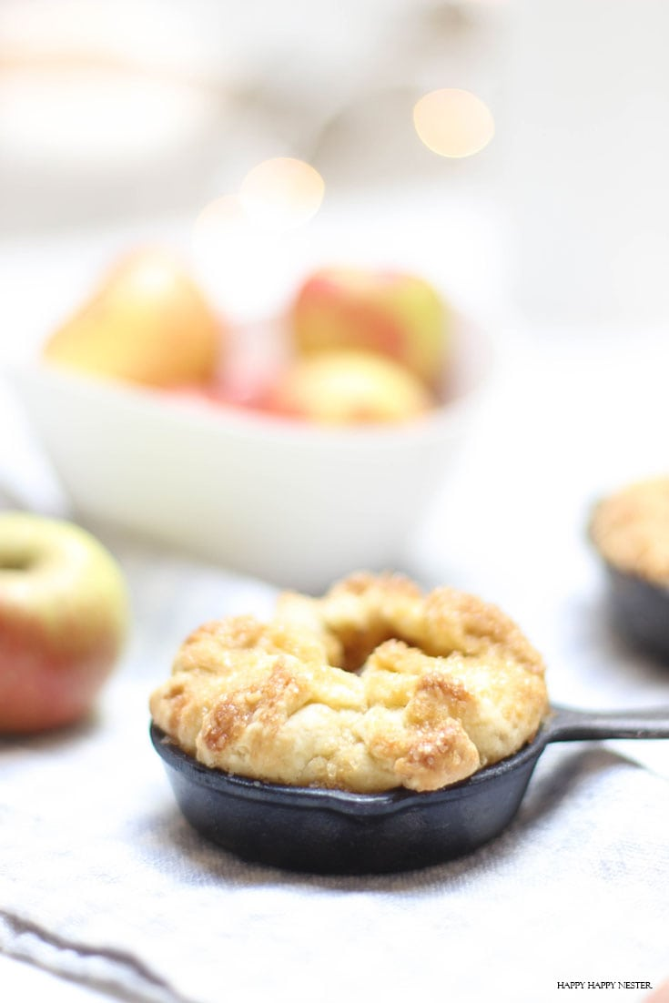 Mini Apple Tart with Custard Recipe