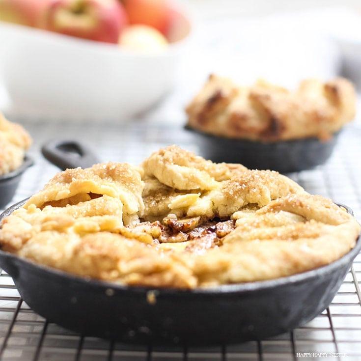 French Apple Custard Tart