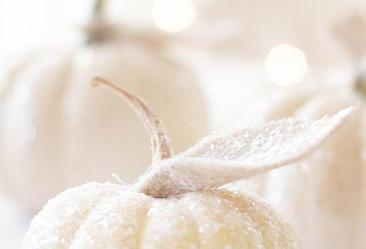 how to make glitter pumpkins easy diy