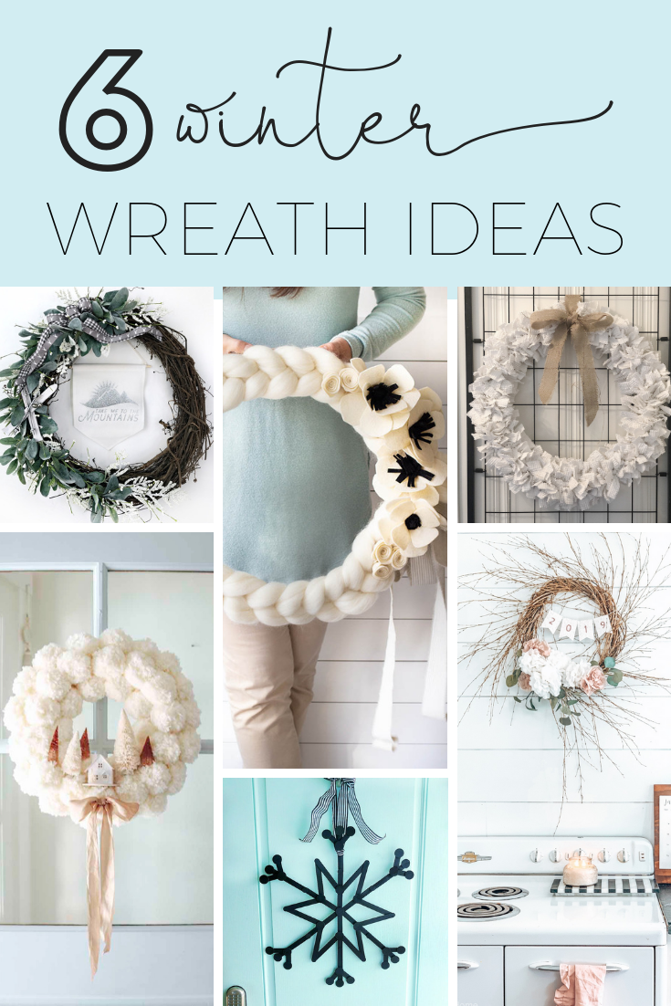 Here is a quick and easy arm knitted wreath to chase your winter blues away! This wreath is so easy to arm knit, and you'll seriously love the results. I love how this bright wreath will look great all year long. Crafts   Arm Knit   Arm Knit Wreath   Wreaths   Wreath DIY   Craft Tutorial   Arm Knit Project   Wreath