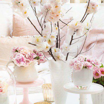 Pretty Tissue Paper Flowers Tutorial