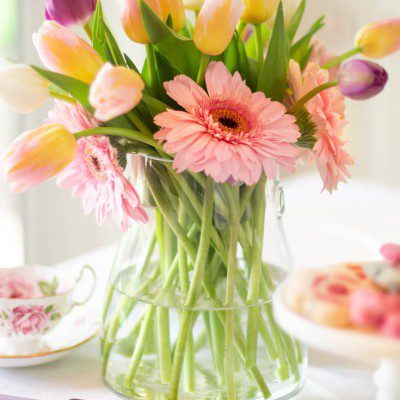 Spring Floral Arrangements and Taxes