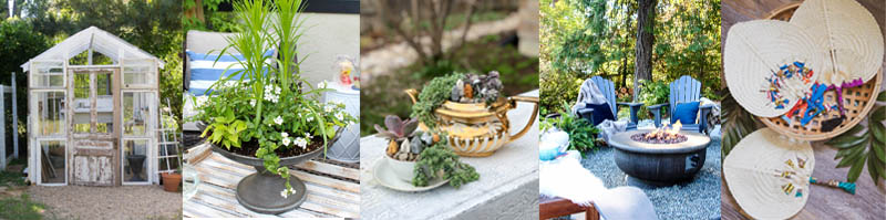 Outdoor Summer Planter Centerpiece Clean And Scentsible